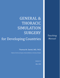 General & Thoracic Simulation Surgery Manual Cover